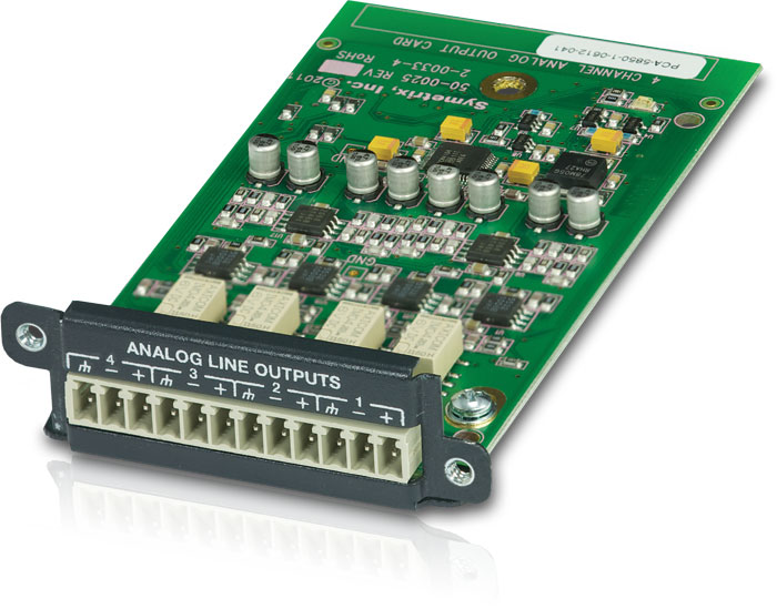 4 Kanal Analog Output Card